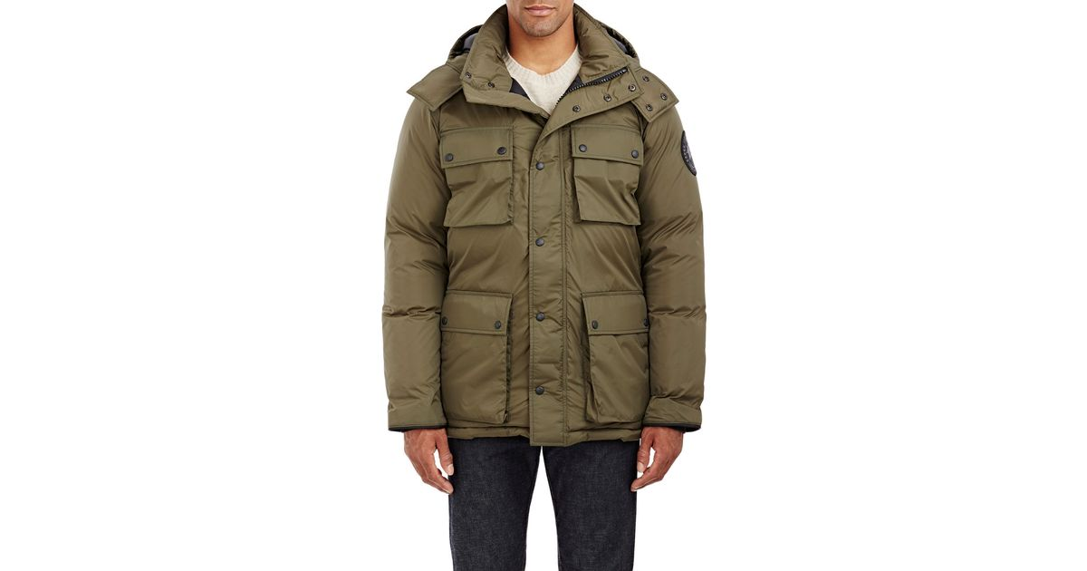 Canada Goose expedition parka outlet discounts - Canada goose Ripstop Manitoba Parka in Green for Men | Lyst