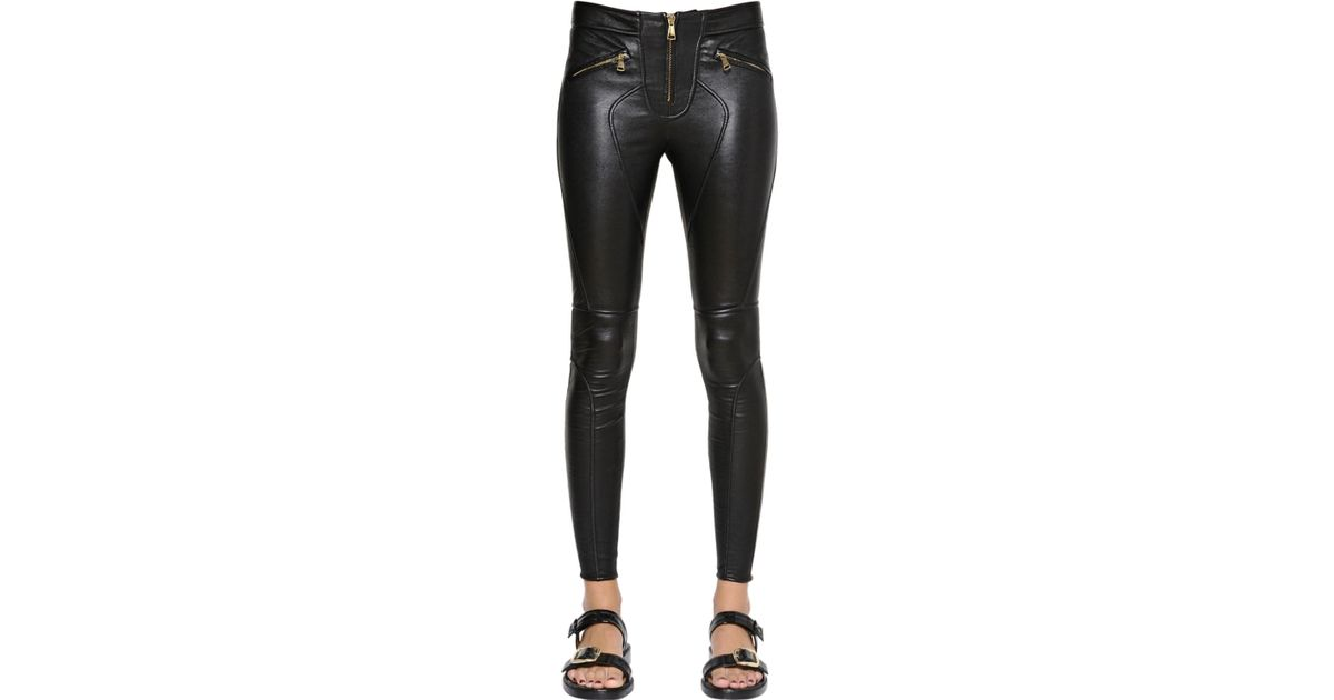 Leggings En Cuir Givenchy 7CMcS