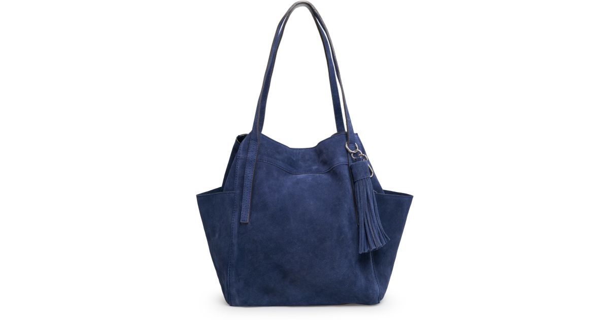 0a2218ae36 Lyst - Mango Tassel Hobo Bag in Blue
