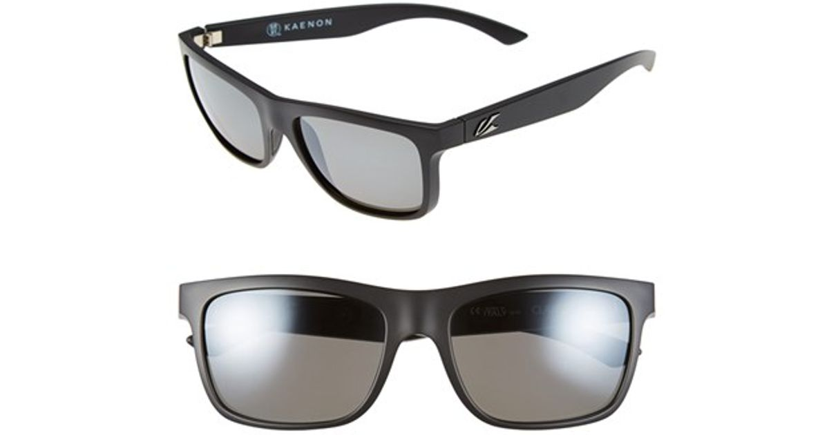 0984a345a2f Kaenon - Black  clarke  56mm Polarized Sunglasses - Lyst