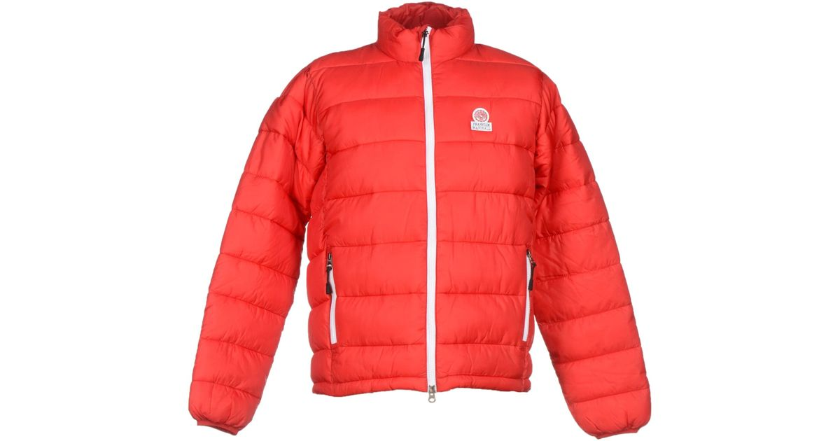 20535375cfbb Lyst - Franklin   Marshall Jacket in Red for Men