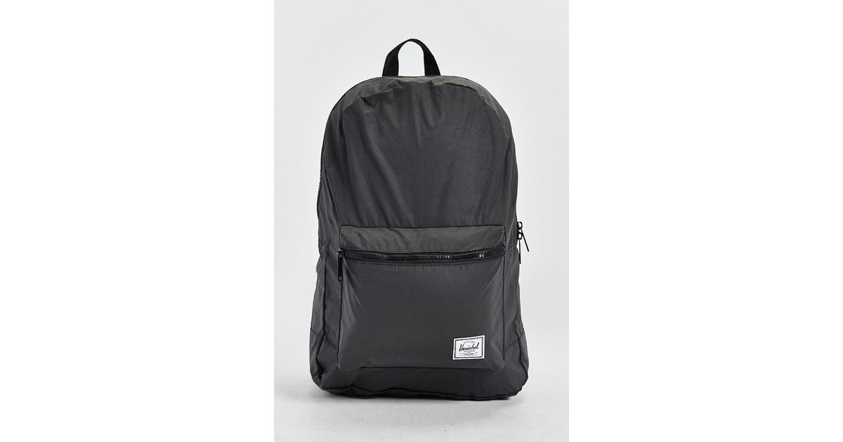 55122994a66 Lyst - Herschel Supply Co. 3m Reflective Packable Daypack in Black for Men