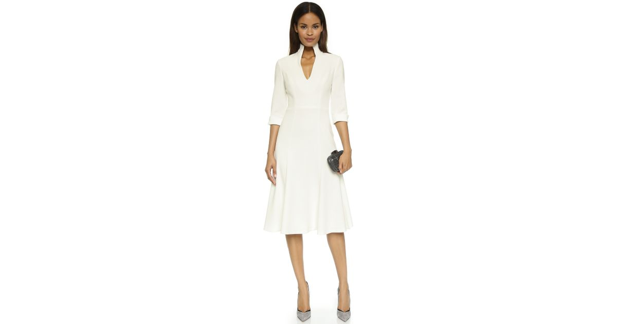 e30e66e59c23 Black Halo Kensington Dress in White - Lyst