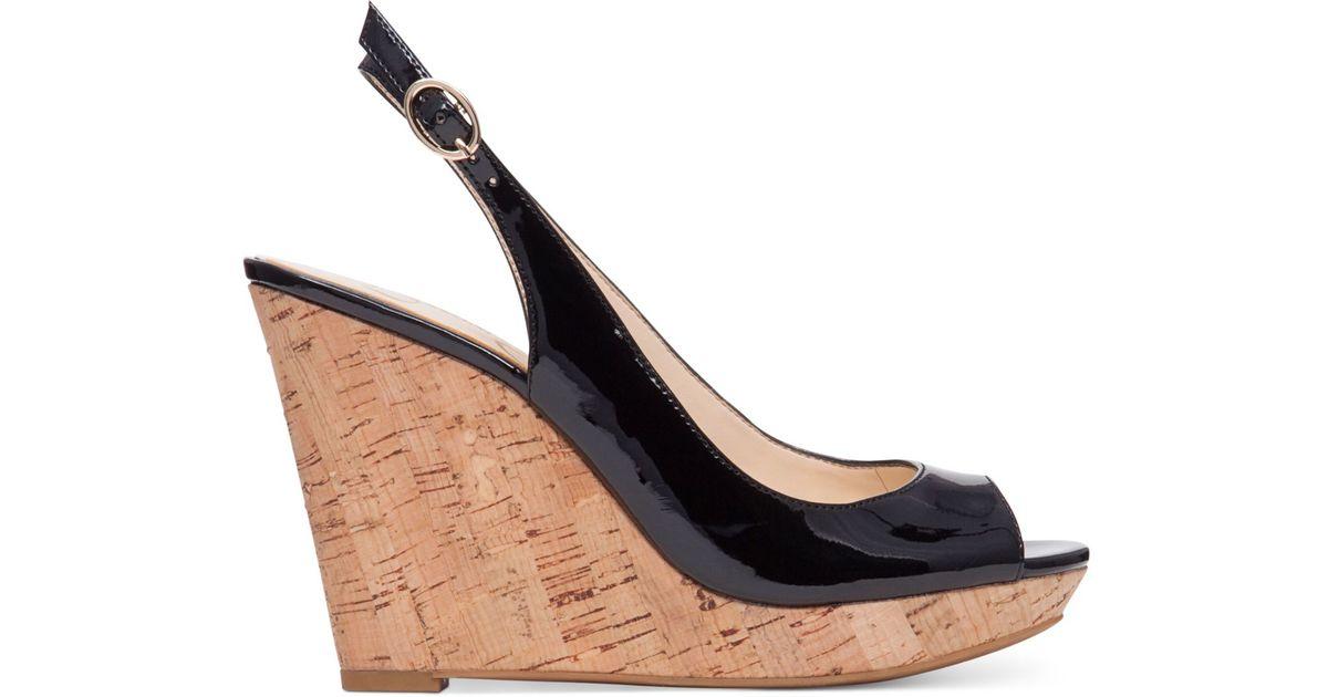 Jessica Simpson Black Slingback Shoes