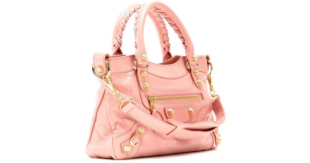 d4b167e0f43 Balenciaga Giant 12 First Shoulder Bag in Pink - Lyst