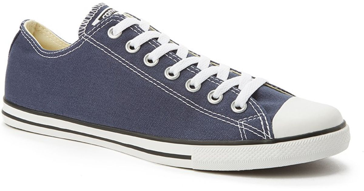 98544569f03c ... order lyst converse chuck taylor all star lean plimsolls grey in blue  for men a51fb 06da3