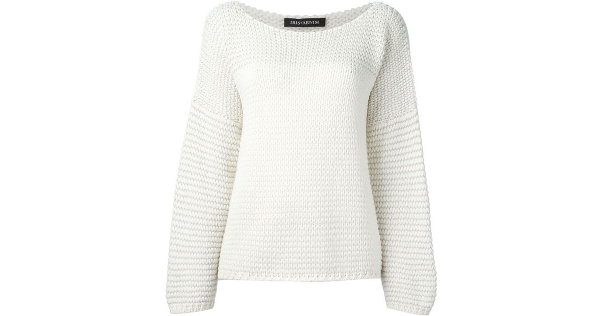 Iris Von Arnim round neck sweater Buy Cheap Order Clearance Manchester Clearance For Nice wgPXj