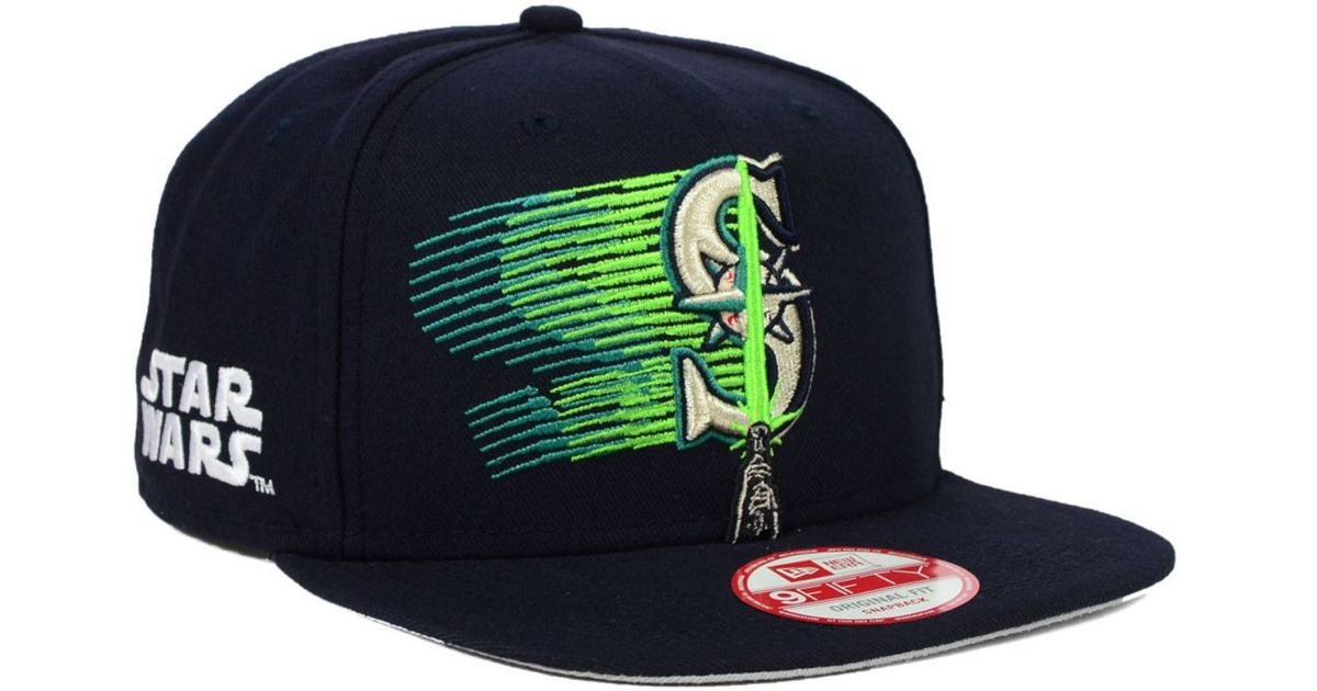 best loved beed5 c19bf KTZ Seattle Mariners Star Wars Logoswipe 9fifty Snapback Cap in Blue for  Men - Lyst