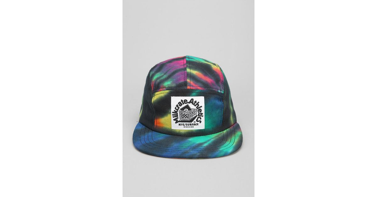 Lyst - Urban Outfitters Athletics Tiedye 5panel Hat in Blue for Men 28c673b72c3b