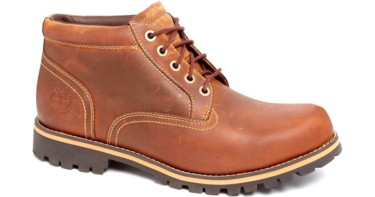 Timberland Earthkeepers Waterproof Chukka Boots In Brown For Men Lyst