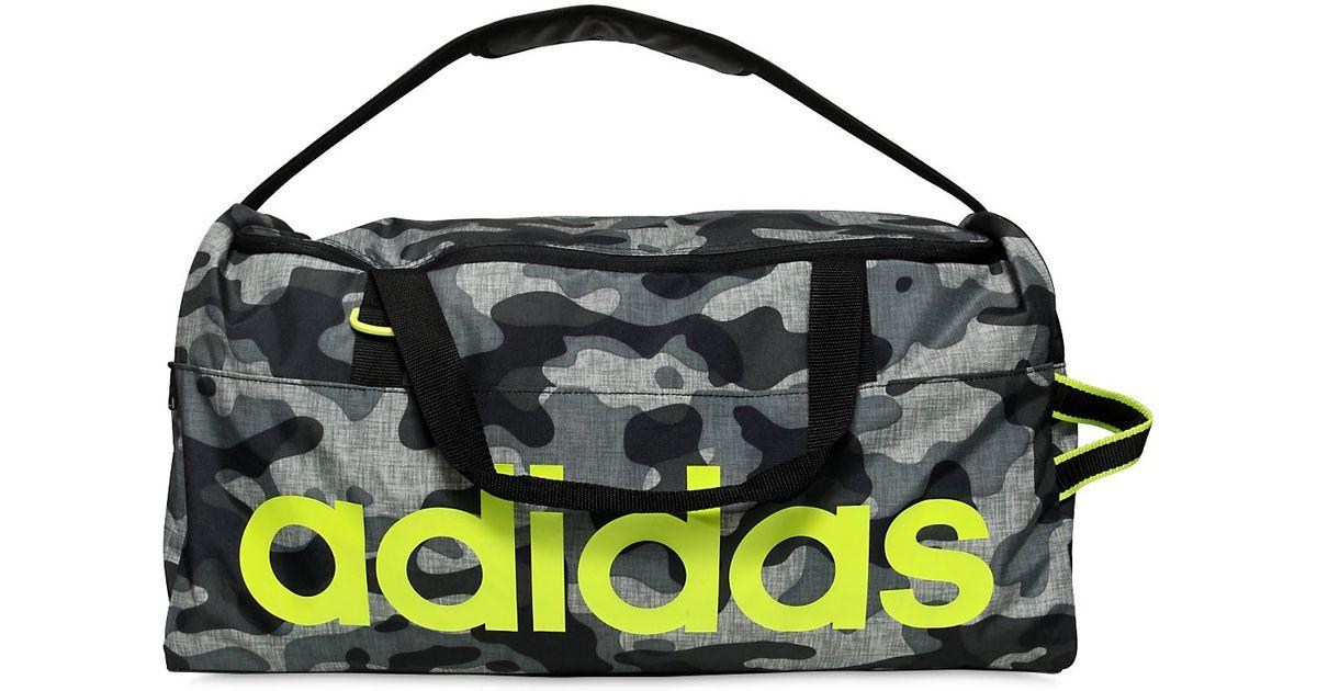 Lyst Adidas Originals Performance Camo Nylon Ripstop Gym Bag In Gray For Men