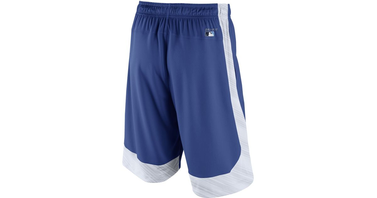 c704ce200a Nike Men'S Los Angeles Dodgers Speed Fly Shorts in Blue for Men - Lyst