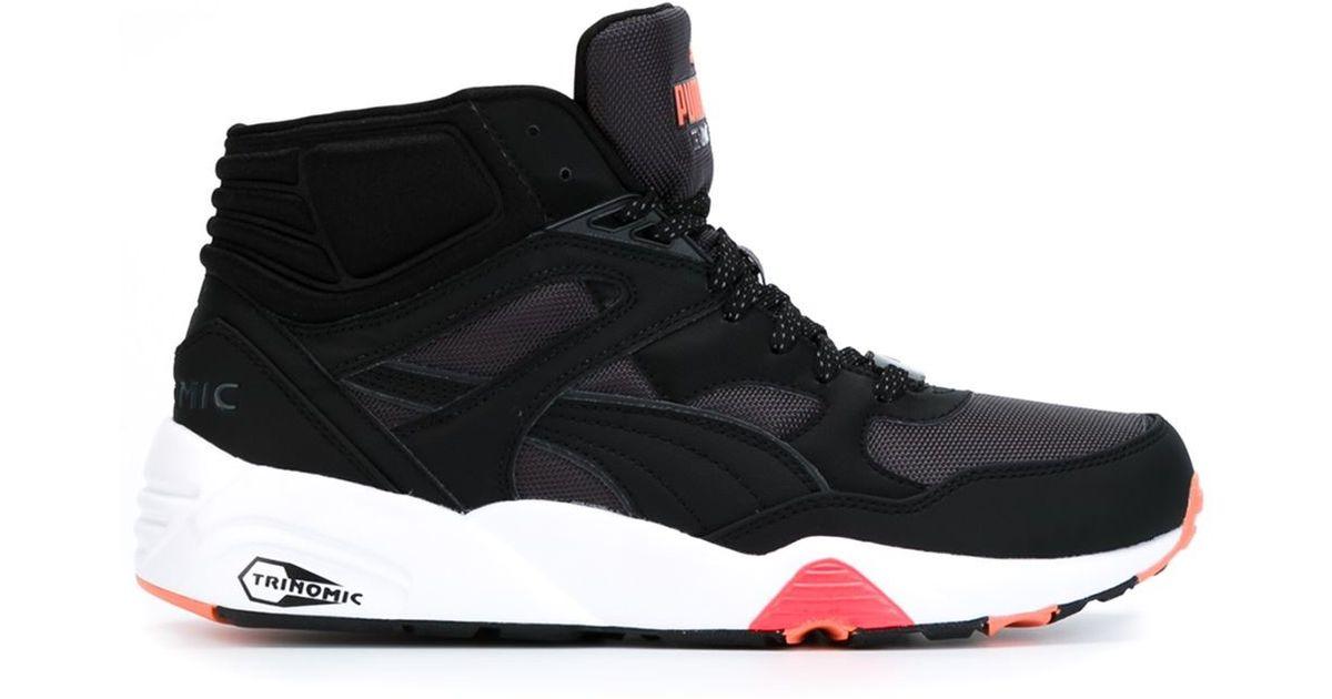 68a5a08ab2a8 Lyst - PUMA  trinomic  Hi-top Sneakers in Black for Men