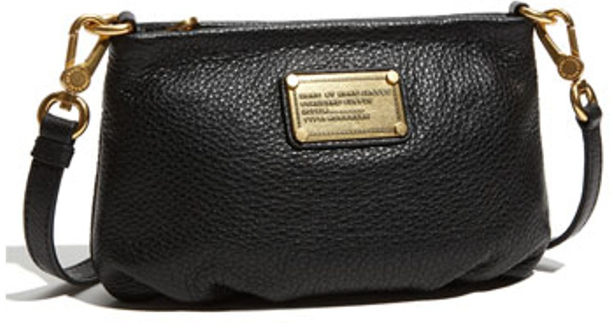 f4ac2fbc11 Marc By Marc Jacobs 'classic Q - Percy' Crossbody Bag in Black - Lyst
