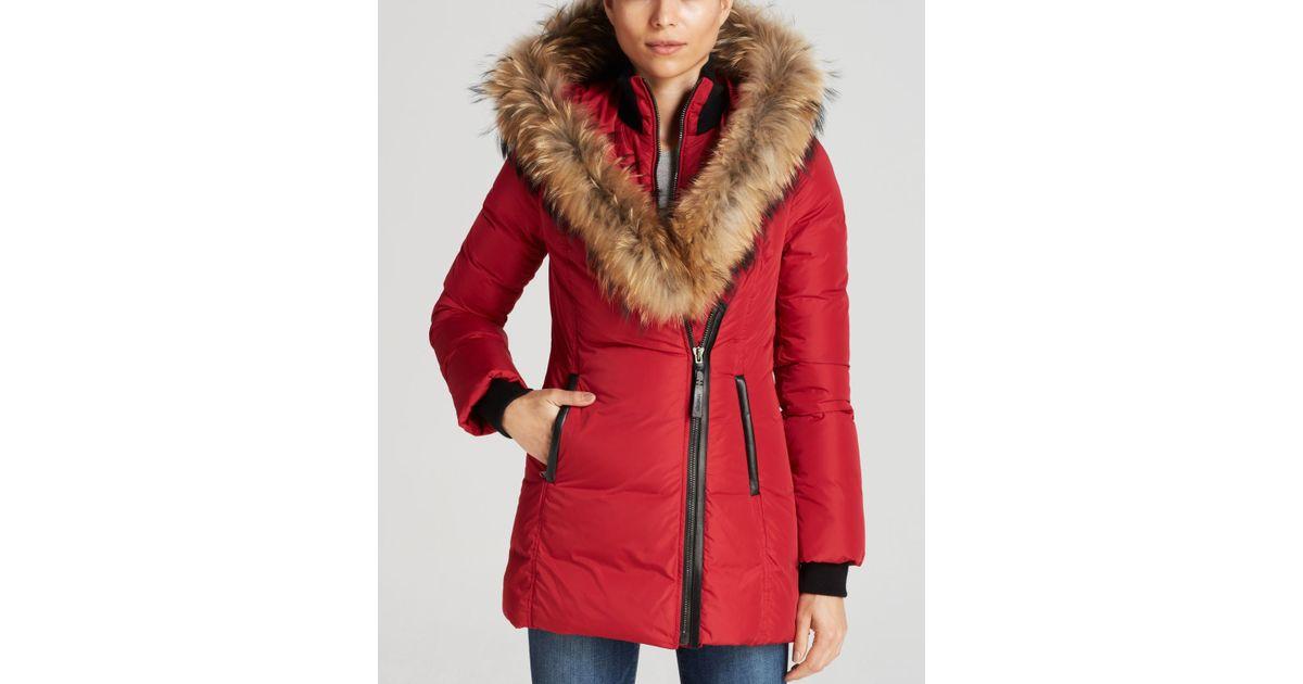 498483e15b7f usa mackage adali down coat with fur hood ef9c9 7396d