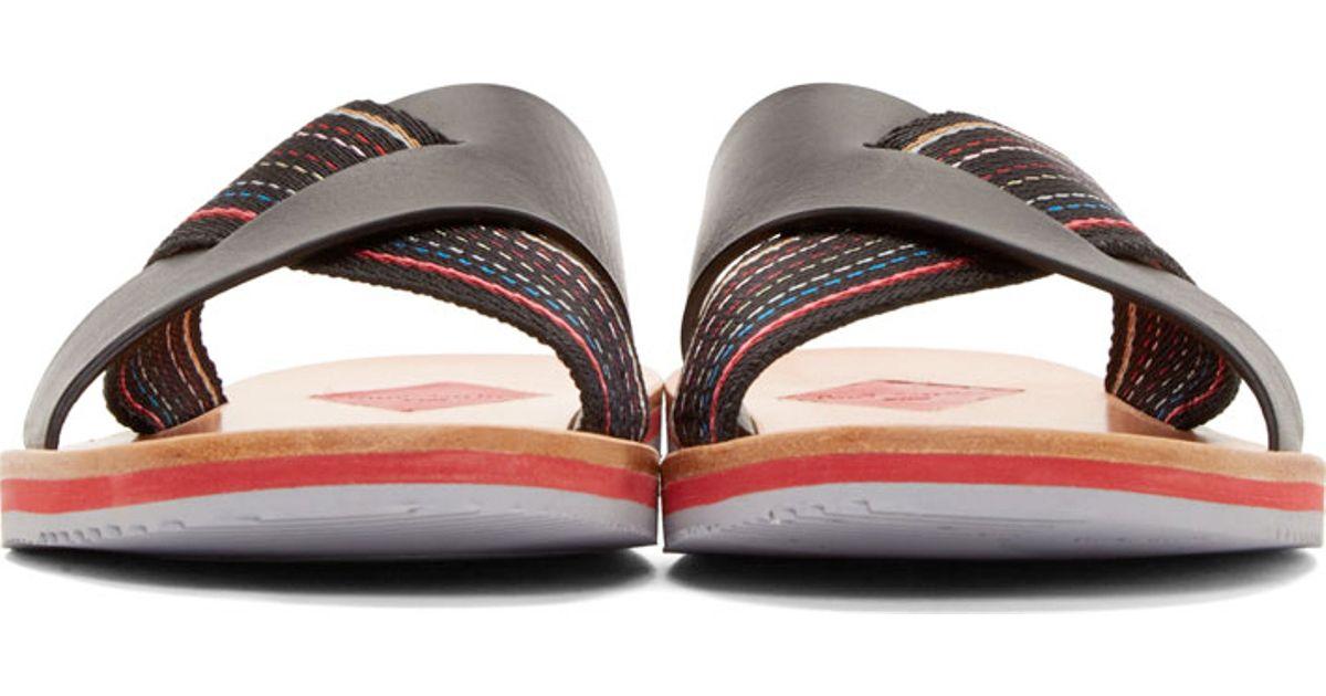 37fe2bf07ceb Lyst - Paul Smith Black Kohoutek Sandals in Black for Men