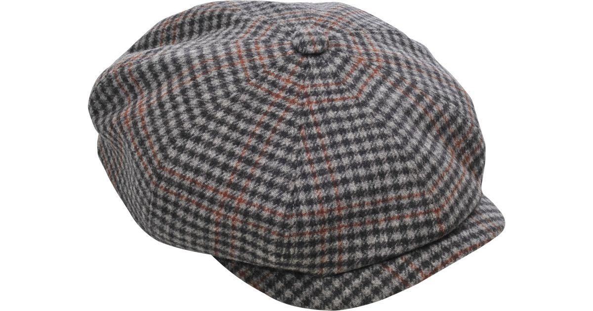 Lyst - Stetson Hatteras Virgin Wool Hat in Gray 7a5b795dc5bd
