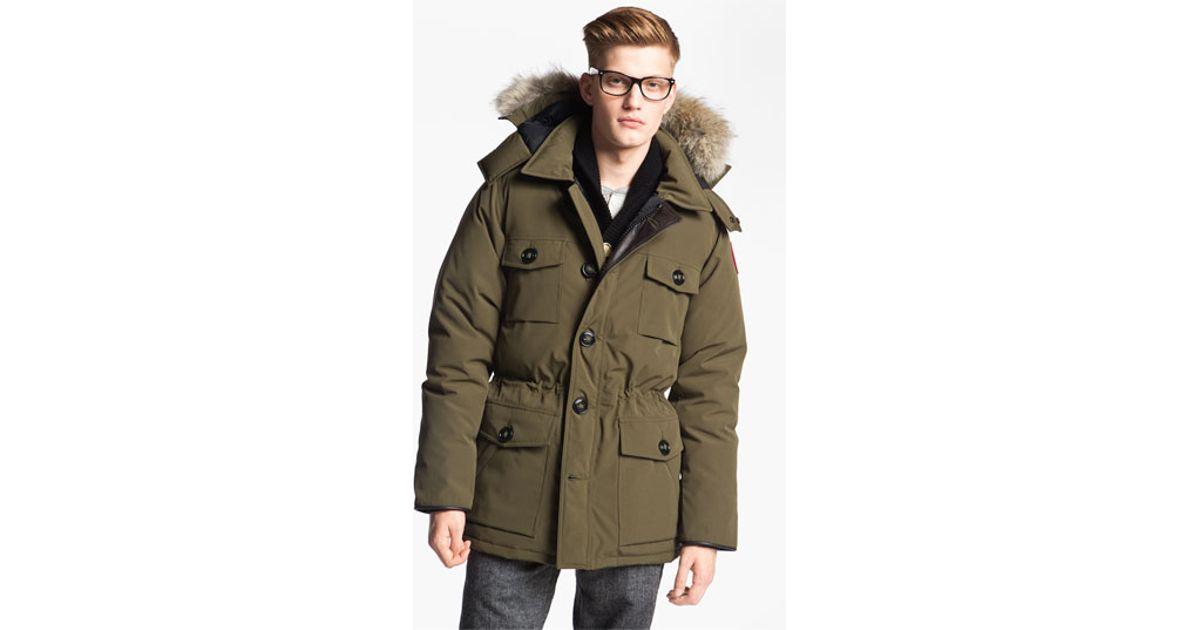 canada goose banff parka midgrey outlet mens canada goose jacket