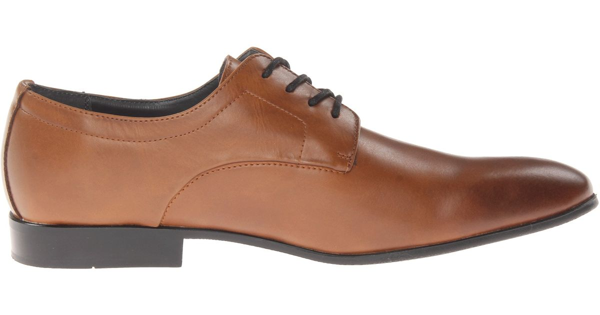 Calvin Klein Ramses Tumbled Leather Derby