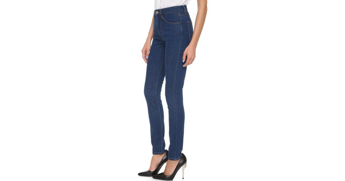 Victoria Beckham Denim Slim Indigo Legging Jeans Kleidung & Accessoires Damenmode