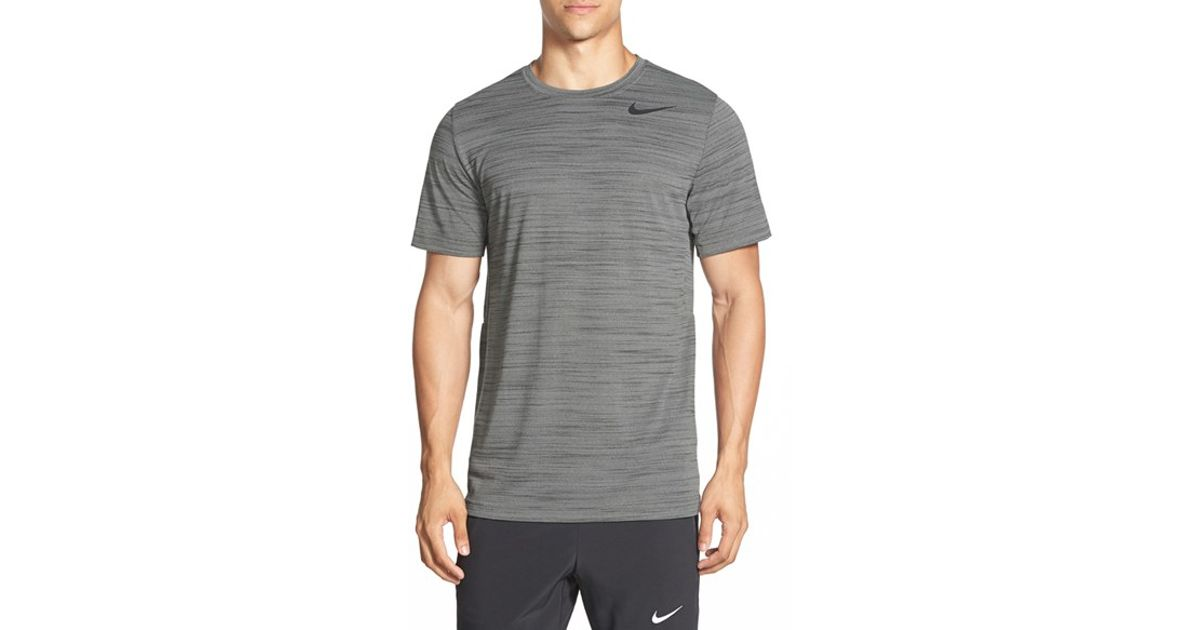Sleeve Lyst Short Gray For Fit T Touch Heathered In Dri Nike Men Shirt rZYTqrw4Uc