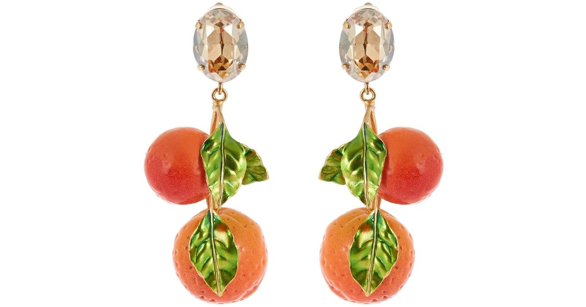 collective and dolce earrings women gabbana gold s metal vestiaire jewellery
