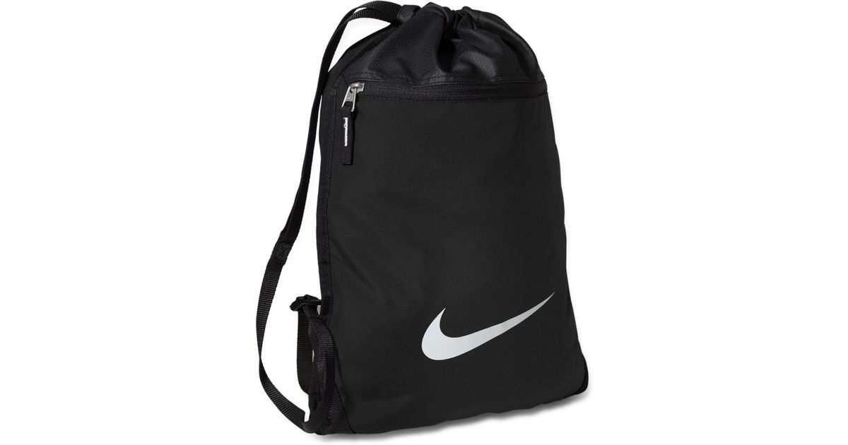 f722d2a3aa Nike Accessories, Team Training Gymsack Bag in Black for Men - Lyst