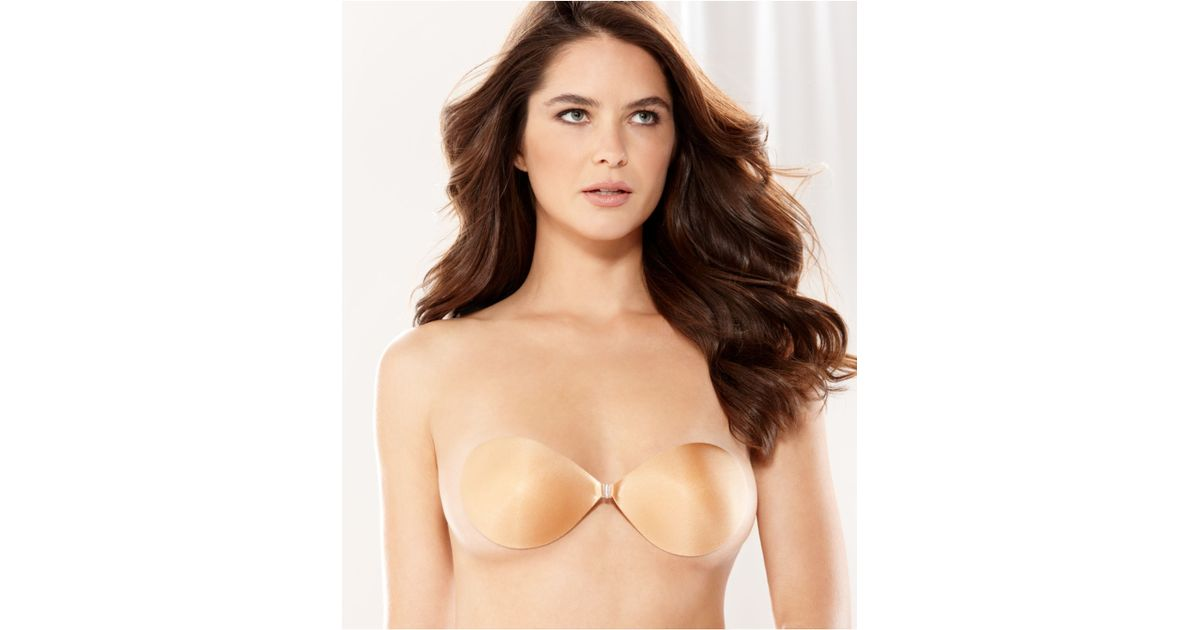 9b57bbc27c Lyst - Fashion Forms Nubra Seamless Push Up Bra Mc844 in Natural