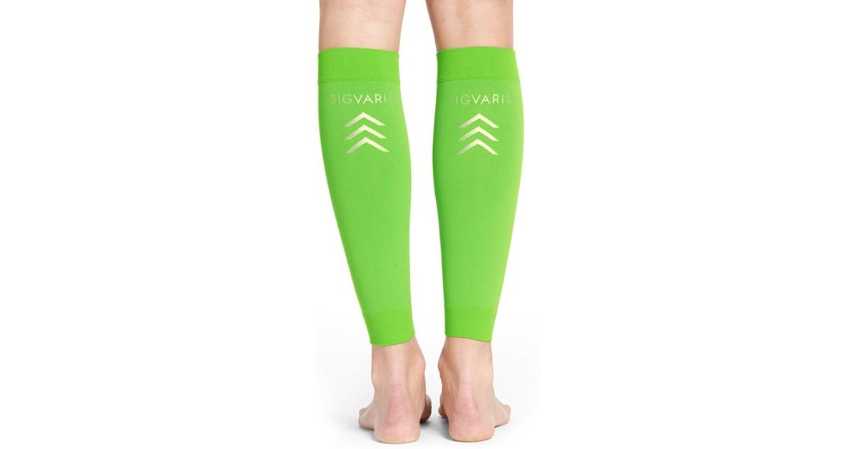 532e8906e Lyst - Insignia By Sigvaris Graduated Compression Calf Sleeves in Green