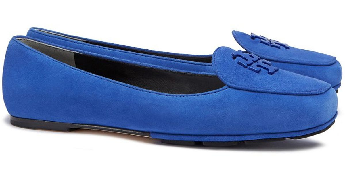 36ce89ae01076f Lyst - Tory Burch Fitz Loafer in Blue