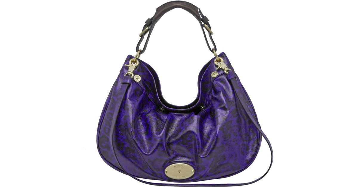 62d5b291bb4 ... coupon code for mulberry mitzy east west hobo bag in purple lyst 63d6f  2b8c7 inexpensive mulberry mitzy tote blackmulberry copenhagenmulberry ...