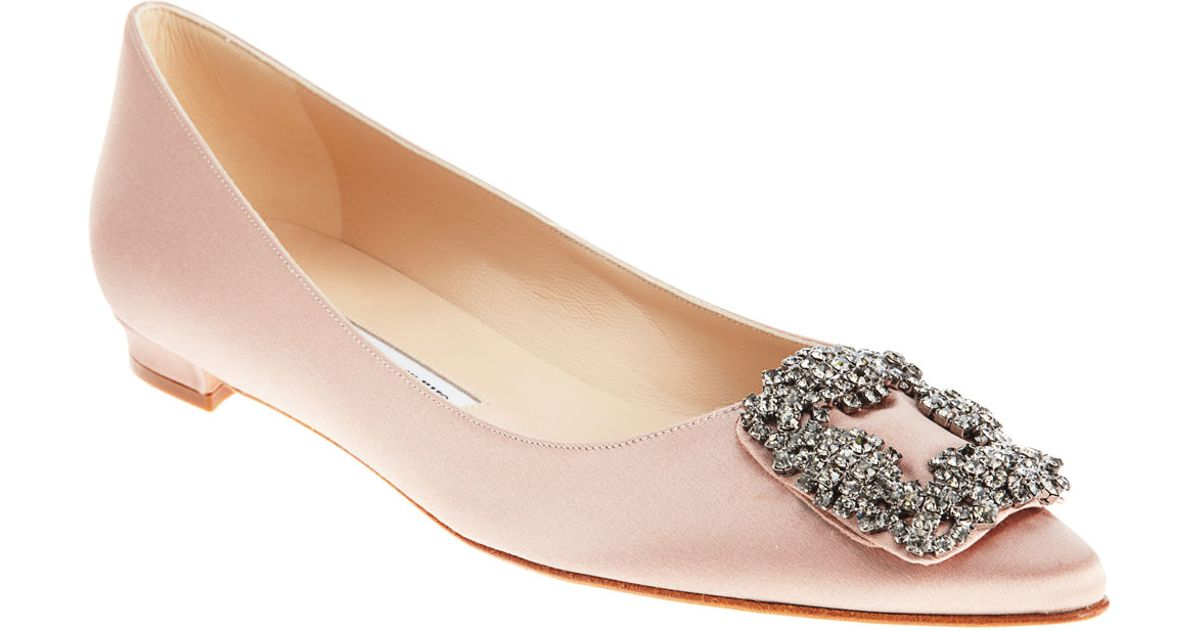 bdb685be93762 manolo blahnik wedding shoes flats