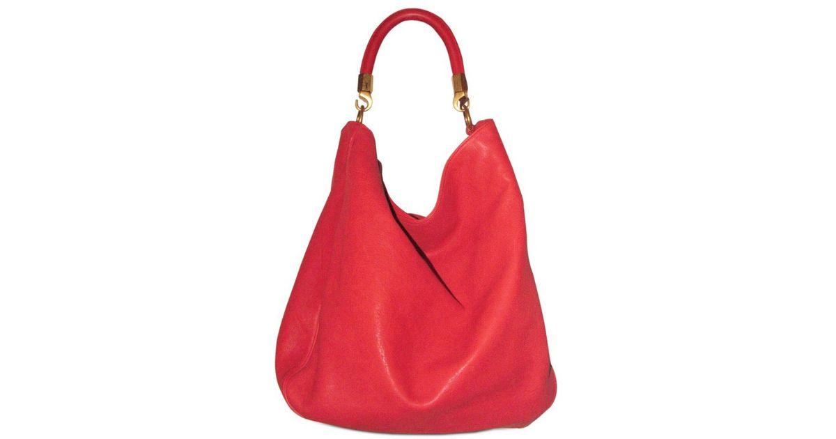 Yves Saint Laurent Leather Roady Hobo Ysl Cabas Bag Price