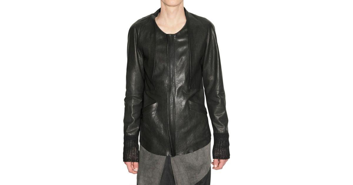 Damir doma leather jacket