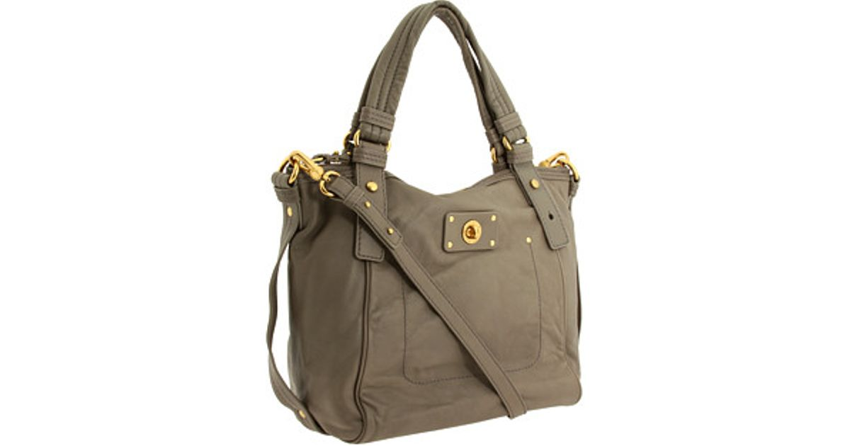 91621c3fef03 Lyst - Marc By Marc Jacobs Totally Turnlock Helena in Gray
