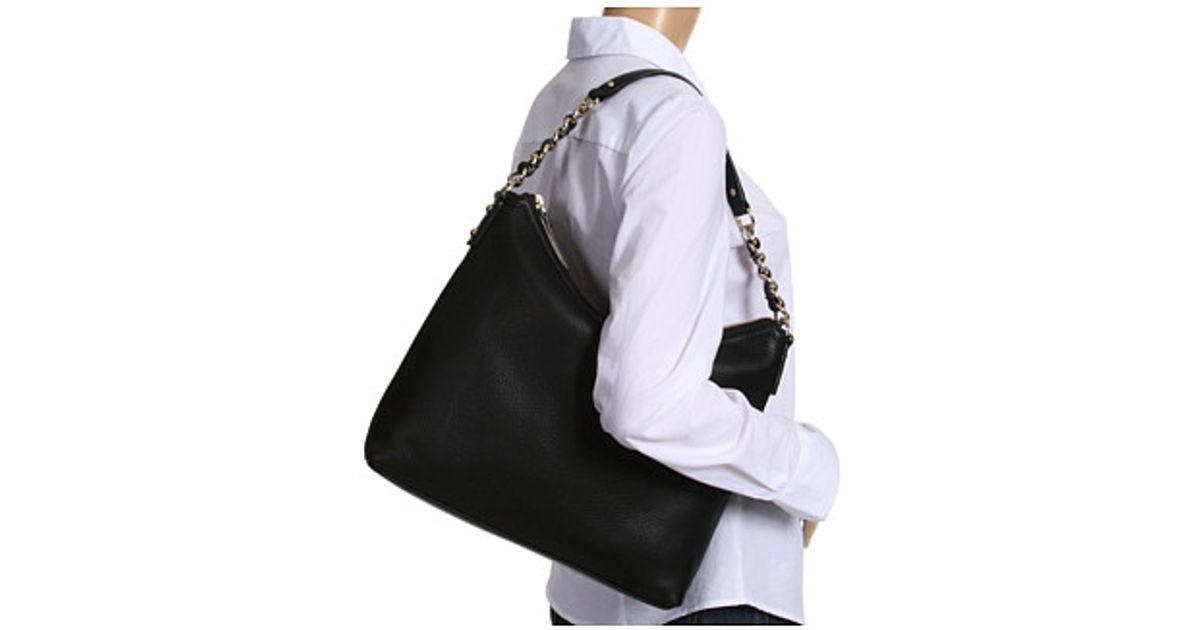 7c7b188d7608 Lyst - Kate Spade Cobble Hill Medium Serena Hobo-style Shoulder Bag in Black