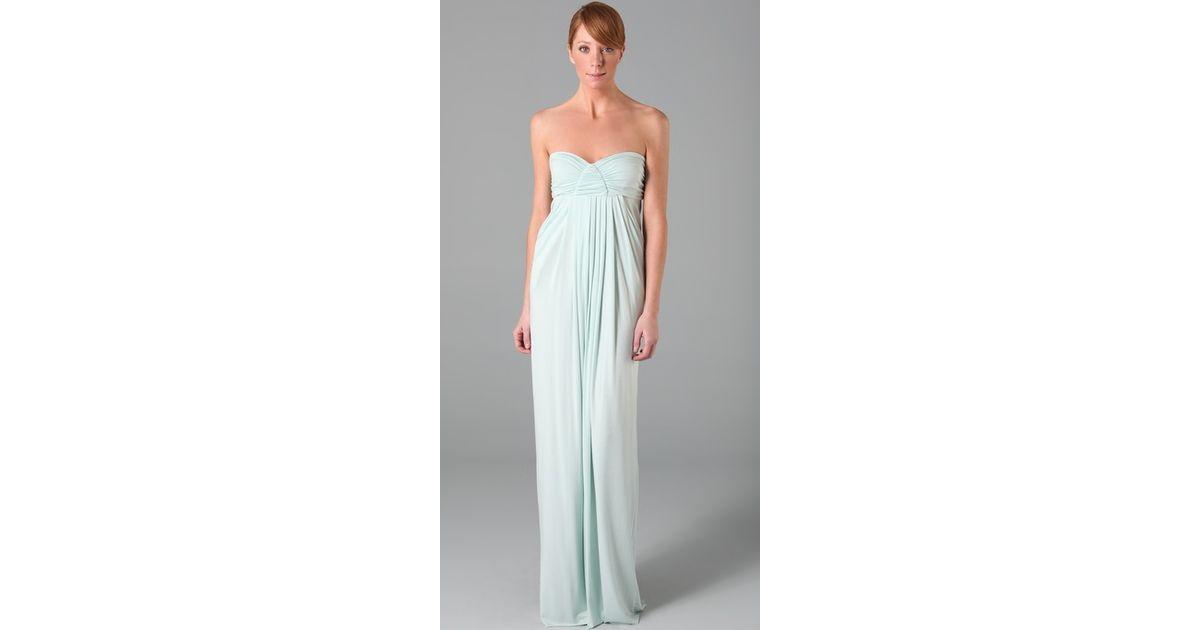 Rachel pally Long Fortuna Dress in Blue  Lyst