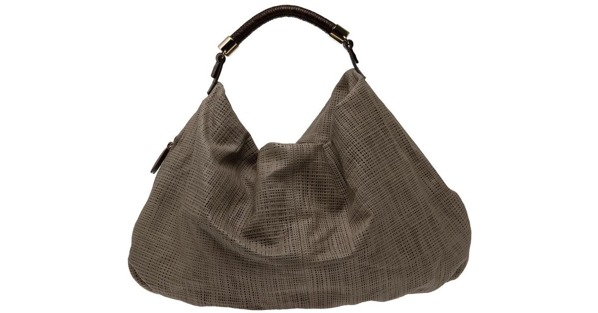 Pauric sweeney Large Slouchy Hobo Bag in Green | Lyst