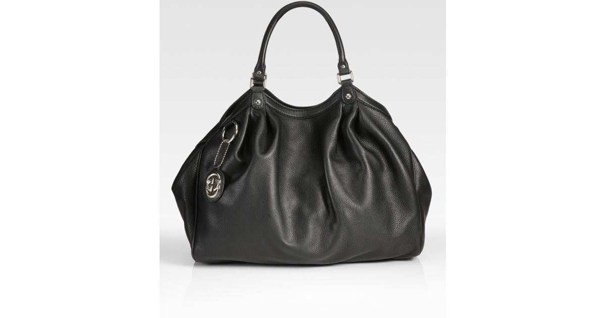 d0c4b8d8d92 Lyst - Gucci Sukey Large Tote Bag in Black