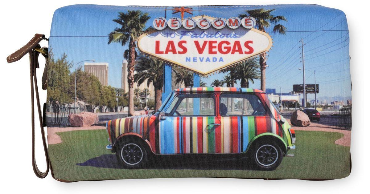 Mini Las Vegas >> Paul Smith Mini Las Vegas Washbag For Men Lyst