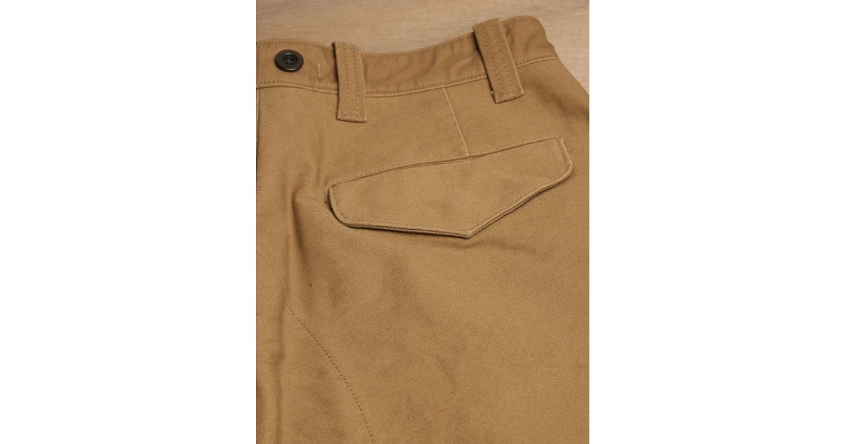 6ab9f4a59d2e Nigel Cabourn Nigel Cabourn Mens Mainline Tommys Pants in Brown for Men -  Lyst