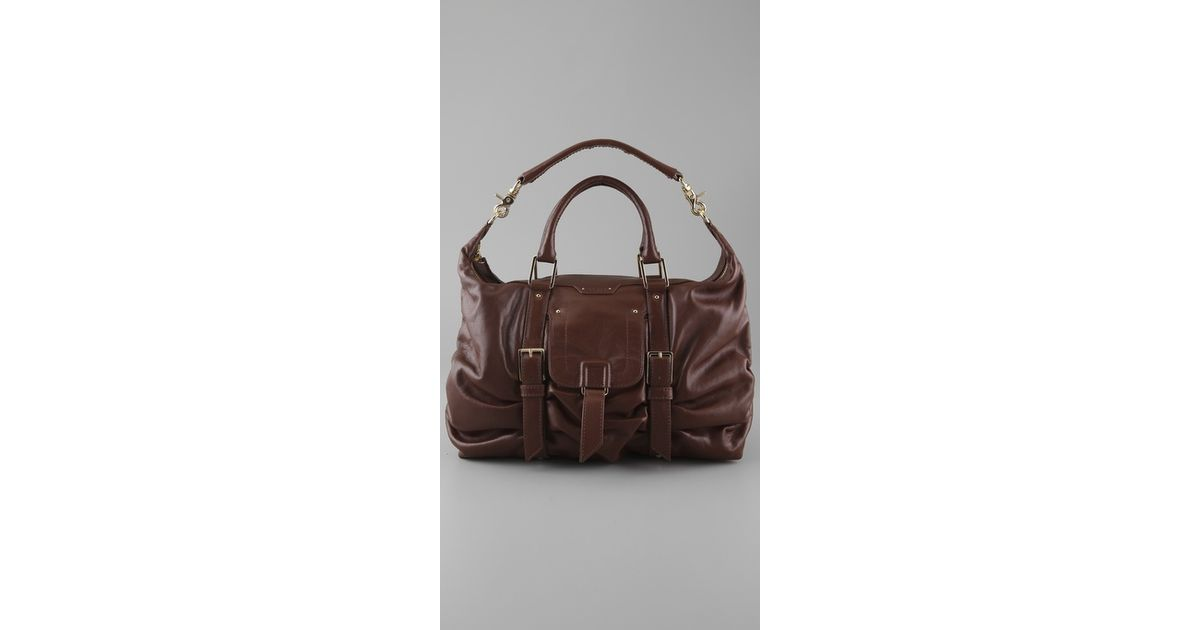 cf397b23966 Lyst - Botkier Sasha Medium Duffel Bag in Brown