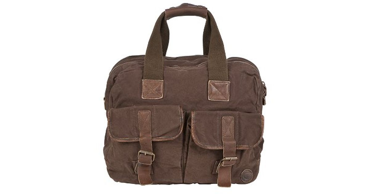 1453d35cb1 Timberland Earthkeepers Canvas Holdall Brown in Brown for Men - Lyst