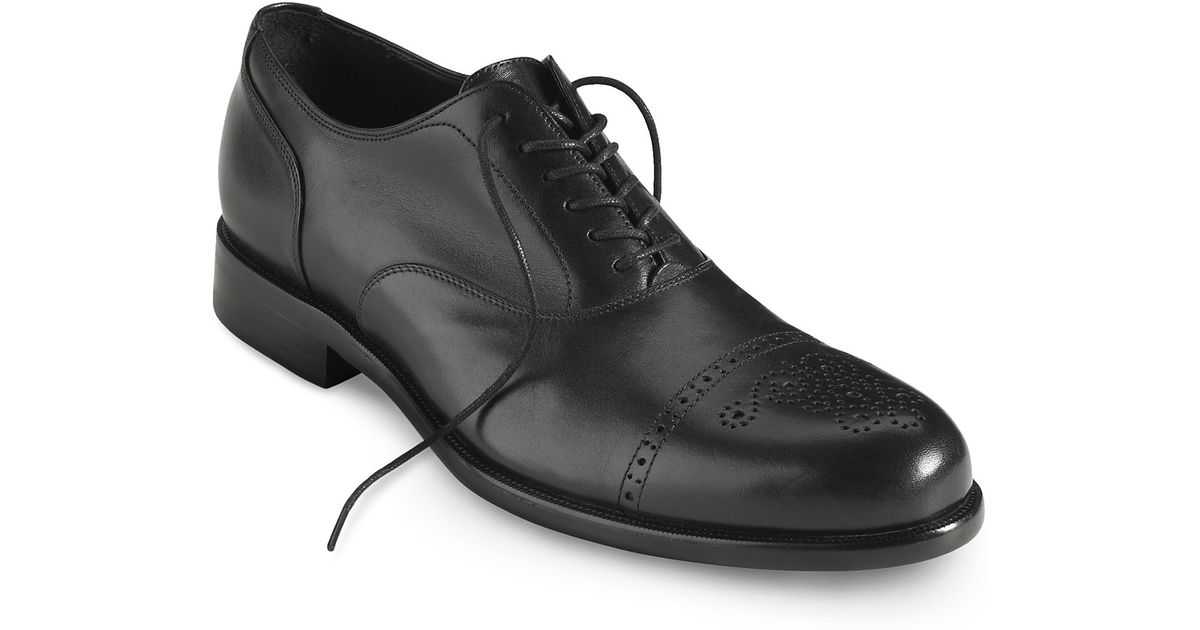 5d1650549d7532 Lyst - Cole Haan Nike Air™ Pitney Cap Toe Oxford Dress Shoe in Black for Men