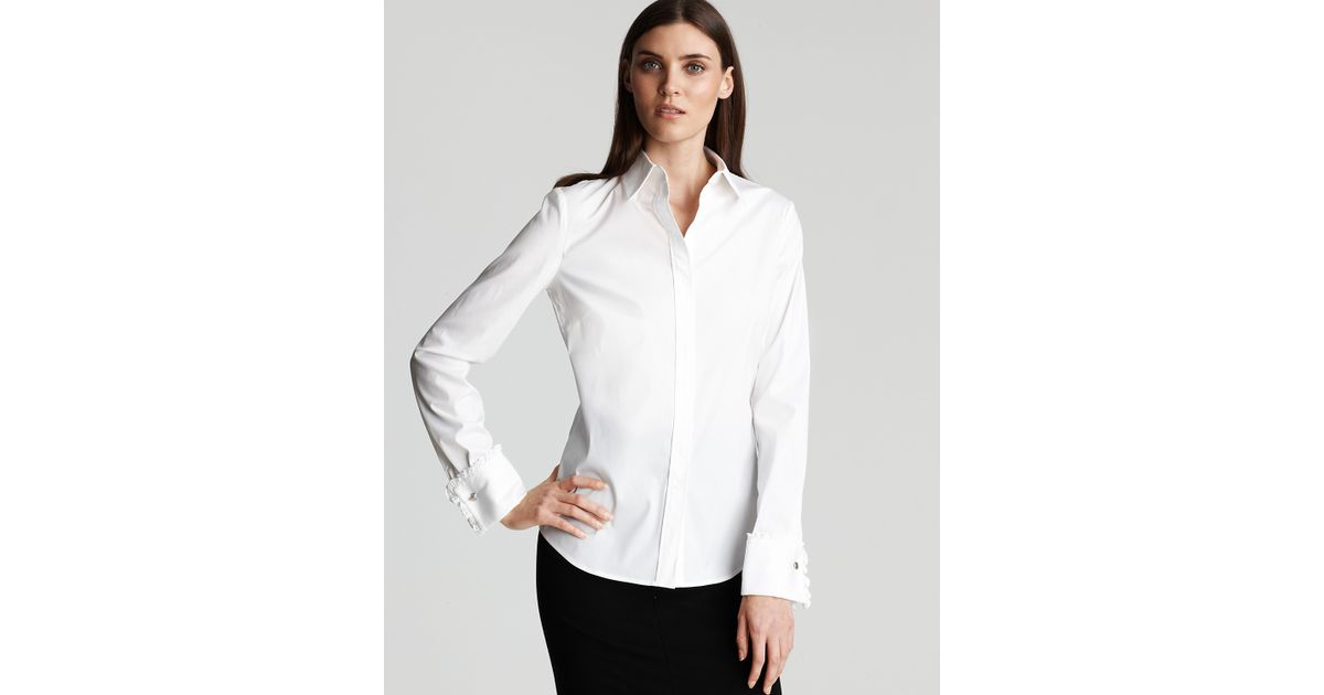 a57f5537b9d Lyst - DKNY Silk cashmere Long-sleeve Cozy