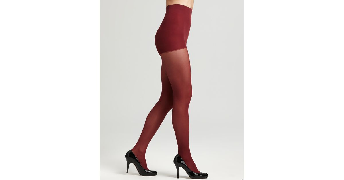 31bdccd46b793 Lyst - Dkny Hosiery Comfort Luxe Opaque Tights in Purple