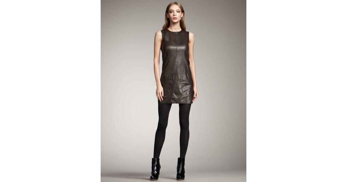 Leather Tunic Dress