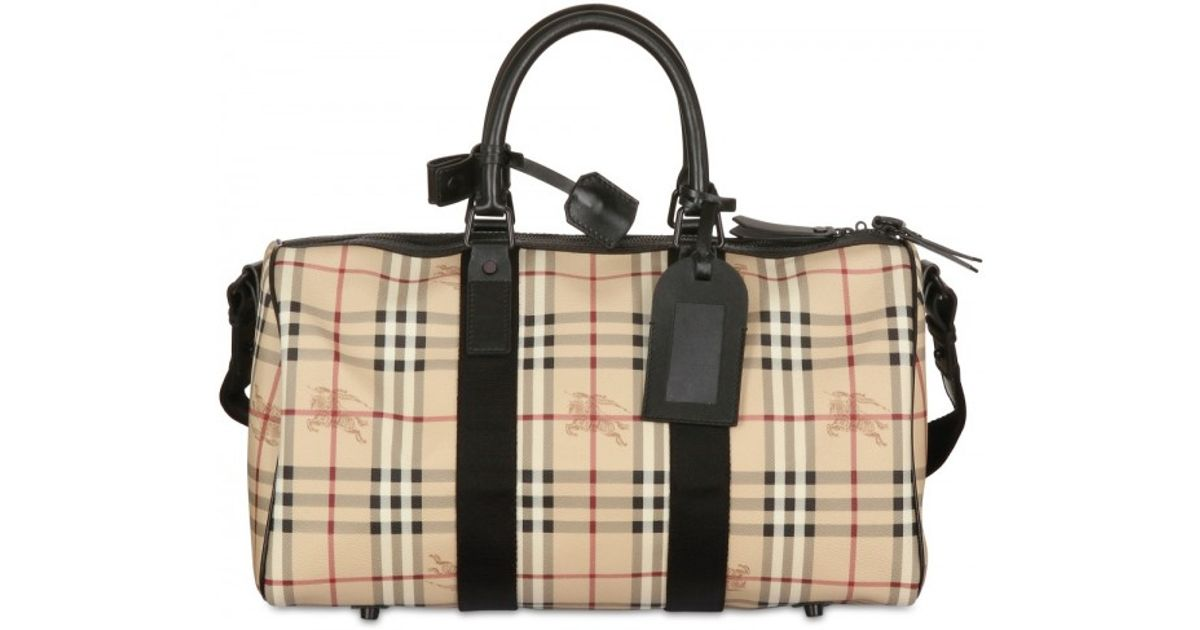 Lyst - Burberry Boston 45 Hwb Bag in Black for Men d0998a94dc159