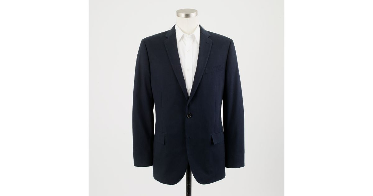 225a808c8 Lyst - J.Crew Ludlow Two-button Suit Jacket with Center Vent in Italian  Chino in Blue for Men
