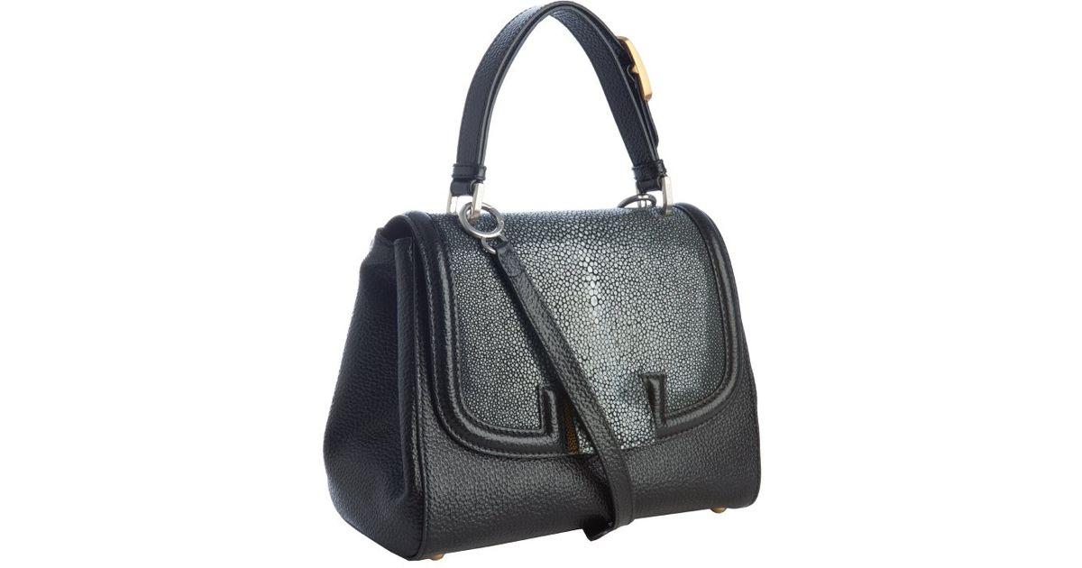 b2a0c2b590 uk fendi black leather bag 96807 a1650